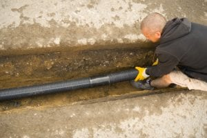 French Drains in Yulee, Florida